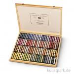 Sennelier Softpastell ECU - Holzkasten Portrait-Auswahl mit 100 Stiften
