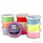 Silk Clay - Modelliermasse, Basic Set 2, 10x40