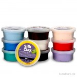 Silk Clay - Modelliermasse, Basic Set 1, 10x40 g