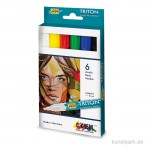 Solo Goya TRITON Acrylic Paint Marker - Basic Set 6x4 mm
