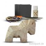 Speckstein Set - Pferd mit Zubehör