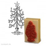 Stempel Tina - Weihnachtsbaum - 5x8 cm