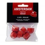 AMSTERDAM Sprühcaps, 6 Stück Regulär