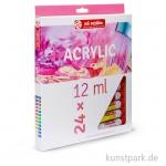 Talens ARTcreation Acrylfarben Set mit 24 Tuben 12 ml