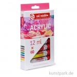 Talens ARTcreation Acrylfarben Set mit 8 Tuben 12 ml