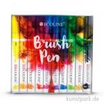 Talens ECOLINE Brushpen Set - 10 verschiedene Farben