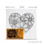 Tangle Rahmen Herz 20x20 cm