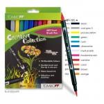 Tombow Brush Pen - Set 12 Grundfarben
