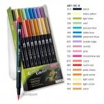 Tombow Brush Pen - Set 18 Sekundärfarben