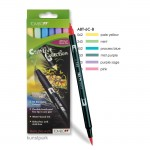 Tombow Brush Pen - Set 6 Pastellfarben