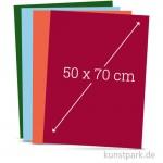 Tonpapier 50x70 cm, 10 Bogen, 130g