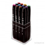 TOUCH TWIN Marker Set 12er - Main Colors