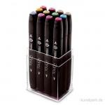TOUCH TWIN Marker Set 12er - Pastel Colors