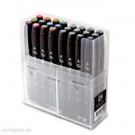 TOUCH TWIN Marker Set 24er - Ausgewählte Farben