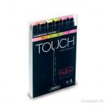 TOUCH TWIN Marker Set 6er - Flourescent