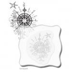 Viva Decor Acryl-Stempelblock 1er 10x10 cm