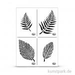 Viva Decor Universal-Schablone A4 - Blätter