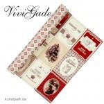 Vivi Gade Copenhagen - Design Papier, 30,5x30,5 cm - 5 Bl. Merry Christmas