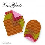 Vivi Gade Helsinki - Origamipapier doppelseitig 50 Stück