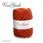 Vivi Gade London - Naturhanf rustikal, 1-2 mm, 30 m - Orange