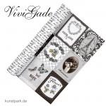 Vivi Gade Paris - Design Papier, 30,5x30,5 cm, 5 Blatt - Memory