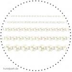 Vivi Gade Skagen - 140 Halbperlen selbstklebend, Perlmuttglanz - Weiß