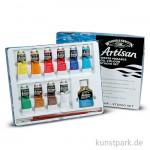 Winsor & Newton ARTISAN Studio Set mit 10 x 37 ml und Zubehör