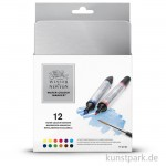 Winsor & Newton Watercolour Marker 12er Set