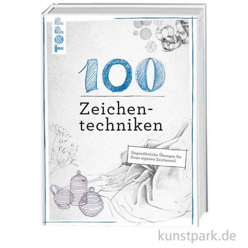 100 Zeichentechniken, Topp Verlag