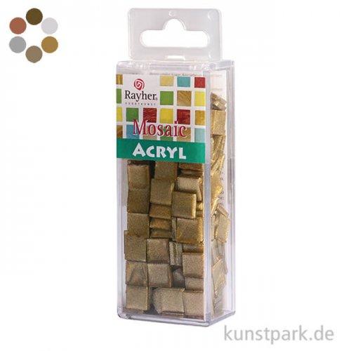 Acryl-Mosaik - Metallic, 1x1 cm, 50 g