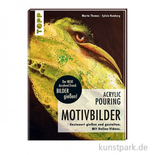 Acrylic Pouring - Motivbilder, Topp Verlag