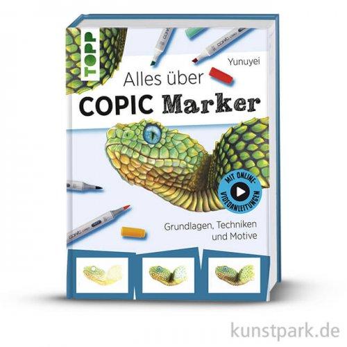 Alles über COPIC Marker, Topp Verlag