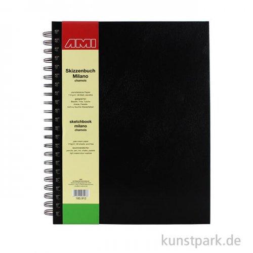 Skizzenbuch MILANO chamois 80 Seiten, 110 g DIN A4