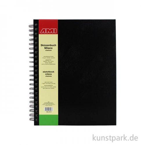 Skizzenbuch MILANO chamois 80 Seiten, 110 g DIN A5