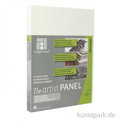 Ampersand Artist Panel - Primed Smooth 22 mm 30 x 40 cm