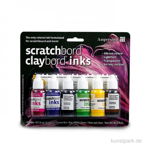 Ampersand ScratchBord - Farben Set