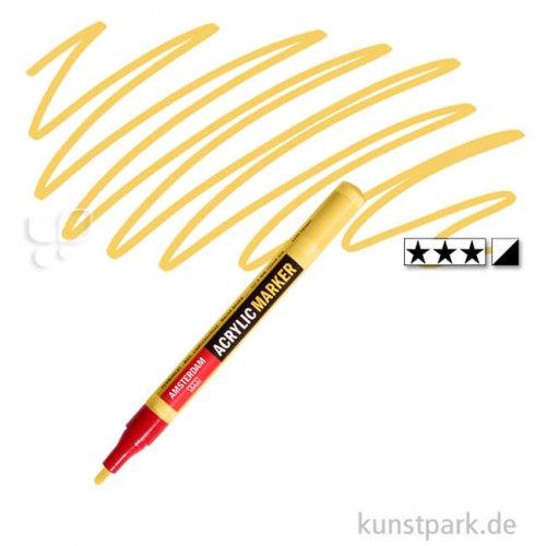 Talens AMSTERDAM Acrylic Marker S 2 mm | 223 Neapelgelb dunkel