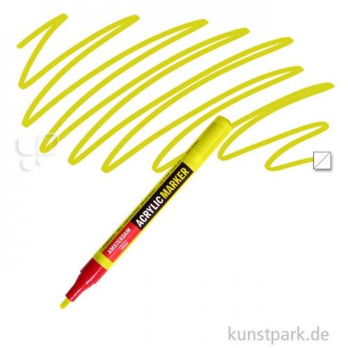 Talens AMSTERDAM Acrylic Marker S 2 mm | 256 Reflexgelb