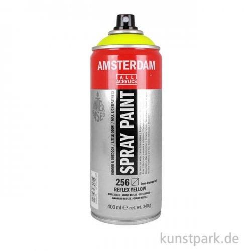 Talens AMSTERDAM Spray Neon 400 ml 400 ml   256 Reflexgelb