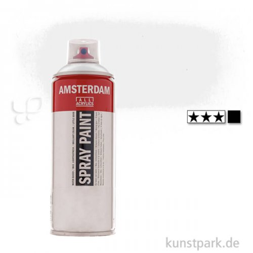 Talens AMSTERDAM Spray Paint 400 ml   105 Titanweiß