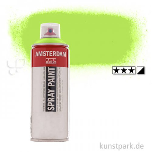 Talens AMSTERDAM Spray Paint 400 ml Einzelfarbe   243 Grüngelb