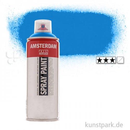 Talens AMSTERDAM Spray Paint 400 ml Einzelfarbe | 570 Phthaloblau