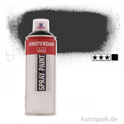 Talens AMSTERDAM Spray Paint 400 ml | 702 Lampenschwarz