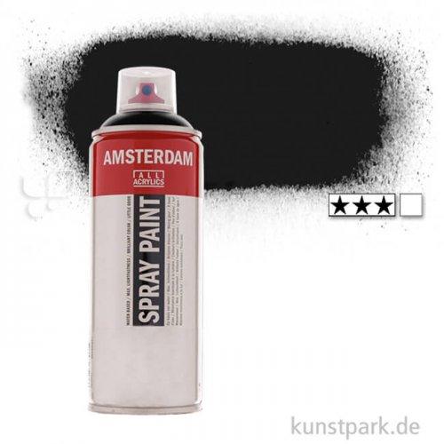 Talens AMSTERDAM Spray Paint 400 ml Einzelfarbe | 745 Transparent schwarz
