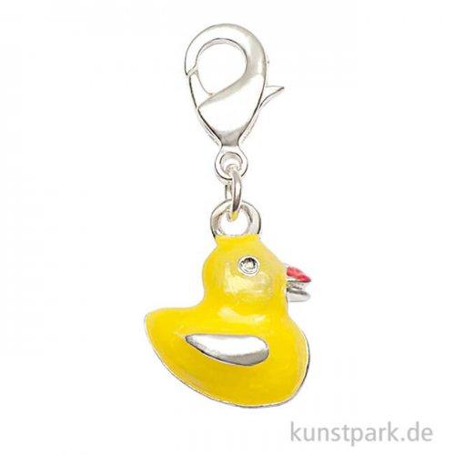 Anhänger Ente - Gelb