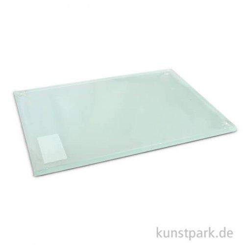 Anreibeplatte aus Glas 20x30 cm