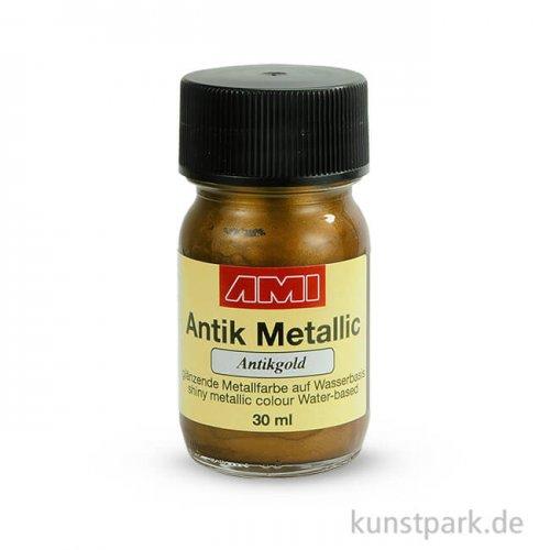 Antik Metallic Antikgold 30 ml