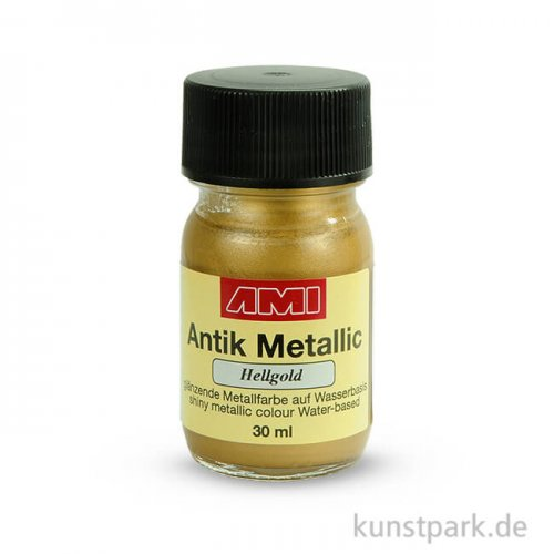 Antik Metallic Hellgold 30 ml