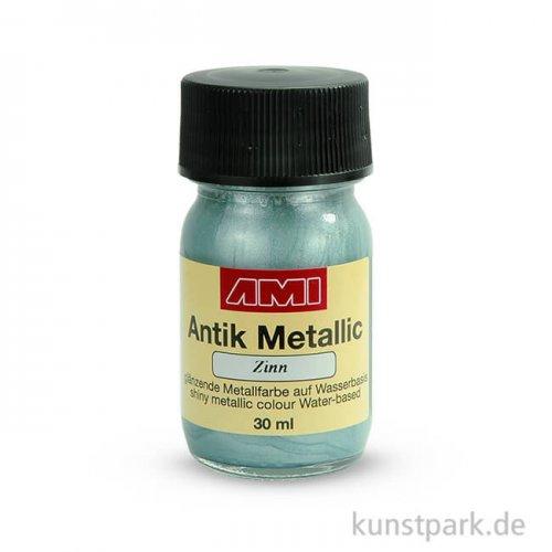 Antik Metallic Zinn 30 ml