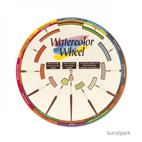 Aquarellfarben-Komponist, Durchmesser 23,5 cm